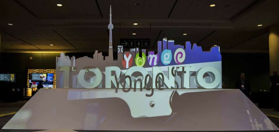 toronto projection mapping